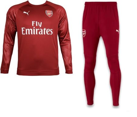 Arsenal Sweatpak Senior 2018