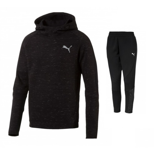 Puma Evostripe Spaceknit Hooded Sweatpak Senior