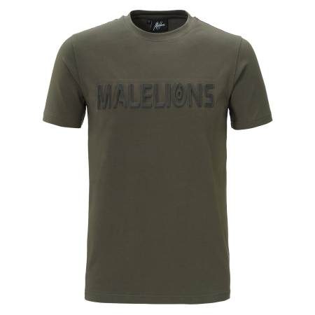 Malelions T-Shirt Embossed Army