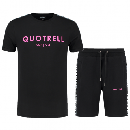 Quotrell General Zomersetje Black/Fuchsia