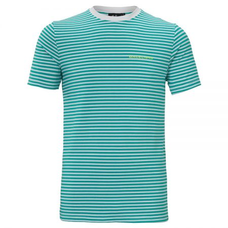 Malelions T-Shirt Giovanni Turquoise
