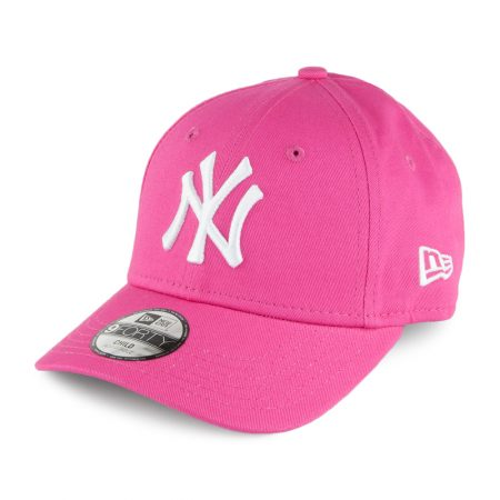 New Era NY Yankees Essential Kids Pink 9Forty