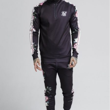 SikSilk 1/4 Zip Trainingspak Senior