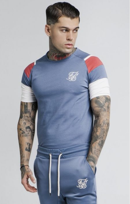 SikSilk Raglan Sprint T-shirt