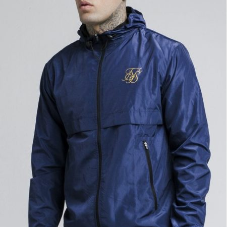 SikSilk Windrunner Navy