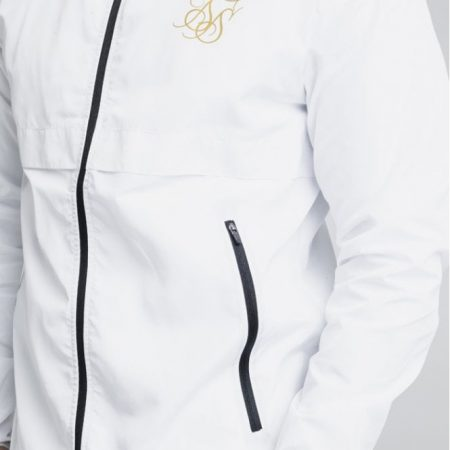 SikSilk Windrunner White