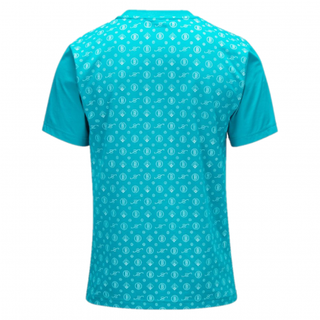 Banlieue - Pattern T-shirt Blue