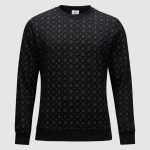 Banlieue All Over Pattern Sweater Black