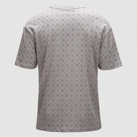 Banlieue All Over Pattern T-shirt Grey 1