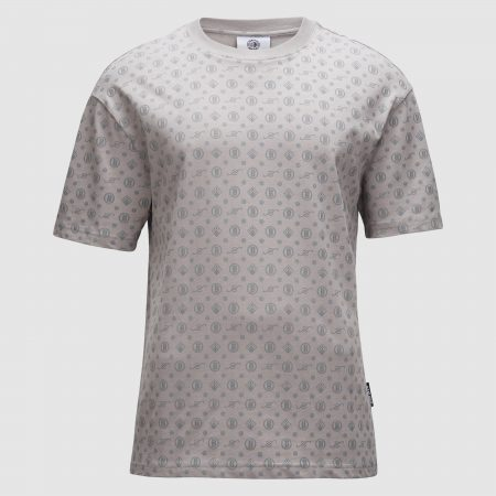 Banlieue All Over Pattern T-shirt Grey