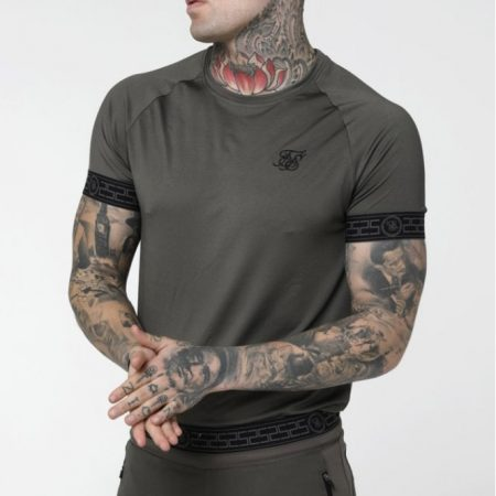 SikSilk Ringer Tech Tee