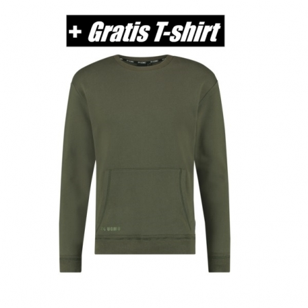 24 Uomo Sweater Army Senior