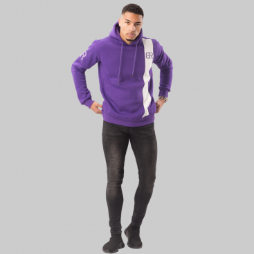By Risque Purple Indigo Hoodie Senior