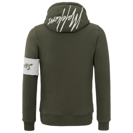 Malelions Captain Hoodie Army/White