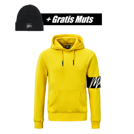 Malelions Captain Hoodie Yellow