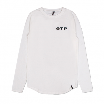 Off The Pitch Off Printed Longleeved T-shirt White