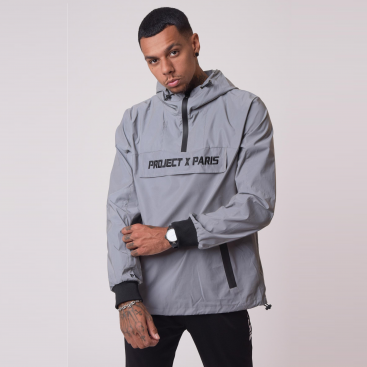 Project X Paris Reflective Windrunner Senior