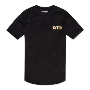 Off The Pitch Reborn Script T-shirt Black