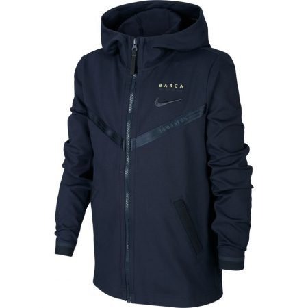 FC Barcelona Tech Fleece Trainingspak Junior 2019-2020