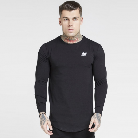 SikSilk Longsleeved Core Gym Tee