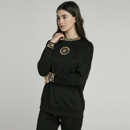 SikSilk Luxury Poly Sweatshirt Dames