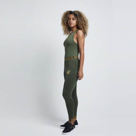 SikSilk Tape Strap Bodysuit Dames