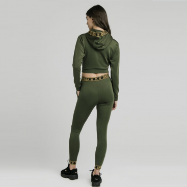 SikSilk cropped tracksuit