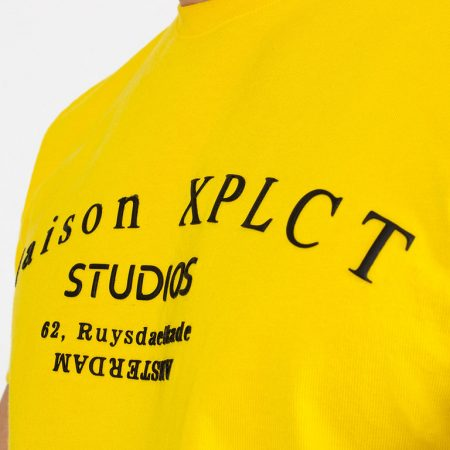 XPLCT Studio Tee Yellow