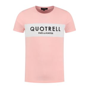 Quotrell Colonel T-Shirt Light Pink