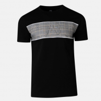 AB Lifestyle Matching Checkers Tee