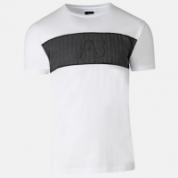 AB Lifestyle Matching Pinstriped Tee