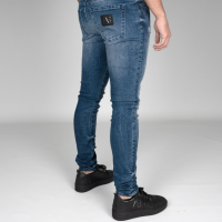 AB Lifestyle Stretch Jeans Splash Dark Blue