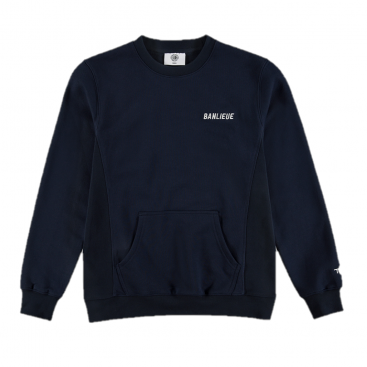 Banlieue TXT Sweater Navy