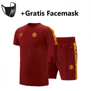 Malelions Home Kit Sport Zomerset Bordeaux/Orange
