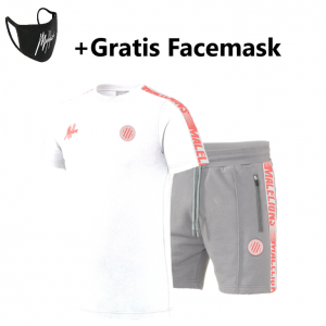 Malelions Home Kit Sport Zomerset Salmon/White