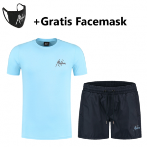 Malelions Signature 2.0 Zomersetje Light Blue