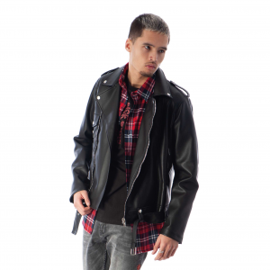 Black Bananas Bratt Biker Jacket