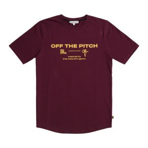 Off The Pitch The Sage T-shirt Fudge