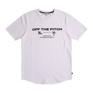 Off The Pitch The Sage T-shirt White