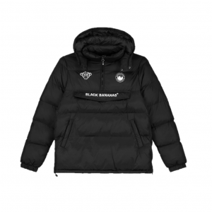 Black Bananas Anorak Block Jacket Black