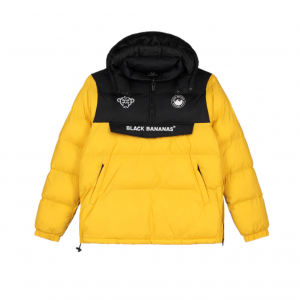 Black Bananas Anorak Block Jacket Yellow