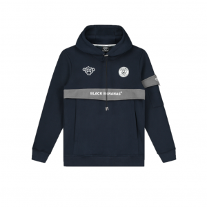 Black Bananas Anorak Captain Hoodie Navy
