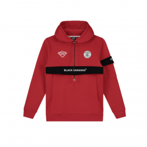 Black Bananas Anorak Captain Hoodie Red