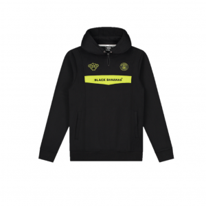 Black Bananas Anorak Neon Hoodie Black/Yellow