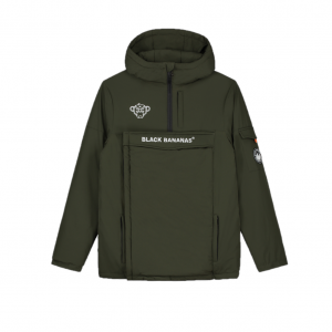 Black Bananas Anorak Technical Jacket Green
