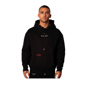 Black Bananas Signature Box Hoodie Black