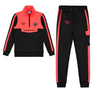 JR-Anorak-Sprint-Tracksuit-Neon-Red